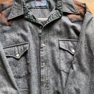 Men's Pendleton's high grade western shirt